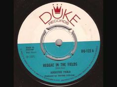 "Augustus Pablo ""Reggae in the fields"" Duke 122 A (1971)"