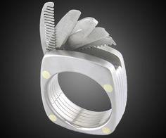 Titanium Utility Ring | DudeIWantThat.com