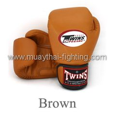 Twins Special Muay Thai Boxing Gloves Brown-BGVL-3 $42.95