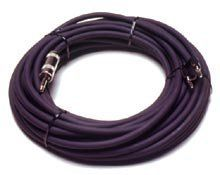 Peavey 25' 14-Gauge Speaker Cable, 1/4'' to Banana by Peavey. $41.99. 25 Ft. 14-gauge 1/4 Inch to Banana Cable