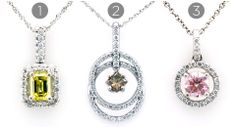 With the recent spring weather and Easter just a few short days away, it's time for a pop of color! So, why not colored diamonds? Which one is your favorite?