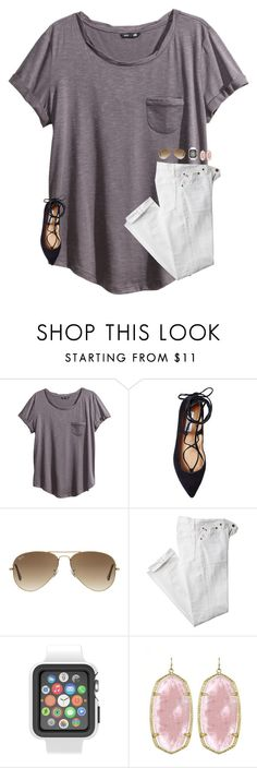 """username change•d"" by smileyavenuegirl ❤ liked on Polyvore featuring H&M, Steve Madden, Ray-Ban, Polo Ralph Lauren, Speck and Kendra Scott"