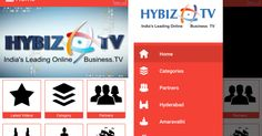 HYBIZ TV Mobile Application