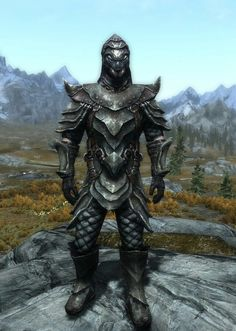 """""""The Insect"""" by Ocean Splitter Orcish Armor, Boots and Gauntlets Shellbug Helmet"""