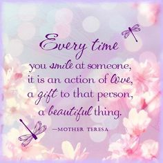 Every time you smile at someone is is an action of love life quotes quote wise quote inspirational quote inspiring quote attitude quotes wisdom quotes better person quote Mother Theresa Quotes, Mother Teresa, Good Morning My Friend, Good Morning Quotes, Faith Quotes, Me Quotes, Quotable Quotes, Daily Qoutes, Attitude Quotes