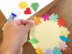 [季節の切り絵カード6]母の日に手作りプレゼント「花のリースカード」 | qufour(クフール) Adhesive, Birthday Cake, Card Ideas, Cards, Birthday Cakes, Maps, Playing Cards, Cake Birthday