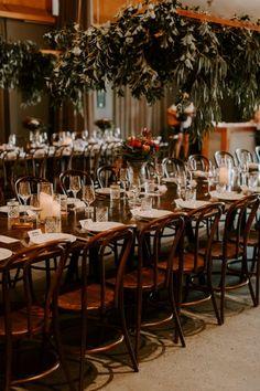 STEPH + MATT // #wedding #realwedding #weddingplanning #weddinginspiration #styling #weddingstyling #tablesetting #greenery #tablesetting #weddingtable #floralinspiration #flowers #weddingflowers #osteriacasuarina