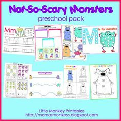 Our Little Monkeys: Not-So-Scary Monsters! (Tot Pack)