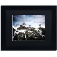Trademark Fine Art And Then.. Canvas Art by Philippe Sainte-Laudy, Black Matte, Black Frame, Size: 16 x 20