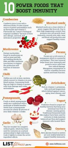 10 Power Foods That Boost Immunity by sdonnelly