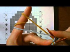 ▶ Double Knitting Tutorial: Part 1 - Casting On - YouTube