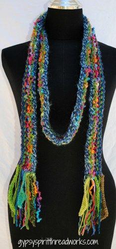 Gypsy Spirit Forest Magic Knit Scarf