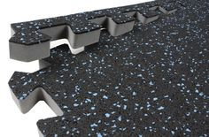 3/4 inch Soft Rubber - Foam Rubber Floor Tiles