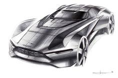 "Aston Martin ""Tech-07"" Sketches on Behance"
