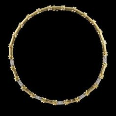 Lot: Gold and Diamond Necklace, Lot Number: 0369, Starting Bid: $3,400, Auctioneer: New Orleans Auction Galleries, Auction: Fine Jewelry, Furs & Accessories      , Date: November 18th, 2017 CET