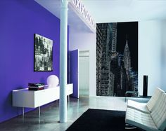 Casadeco So Wall Urban Big Apple Wall Panel - from £214.00 - Available in 3 colour ways - www.4-id-shop.co.uk