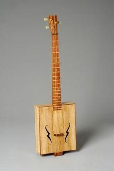 Smokin' Sycamore Cigar box guitar