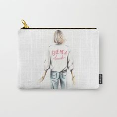 Give me a break Carry-All Pouch by martadehojas Give Me A Break, Give It To Me, Carry On, Pouch Bag, Bags, Stuff To Buy, Shopping, Handbags, Hand Luggage