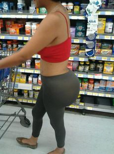 Meanwhile at Walmart You Can Wear Yoga Pants and Thats Ok - Funny Pictures at Walmart