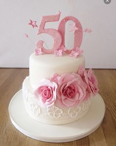 50th Birthday Cake For Mom Images