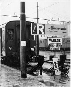 Applicazione del monogramma / Use of the monogram, la Rinascente 1950 ca, courtesy Archivio Albe e Lica Steiner, DPA, Politecnico di Milano.