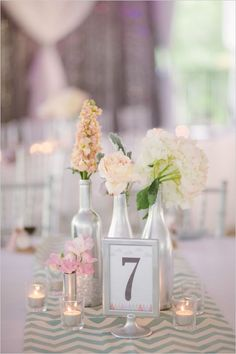 4 how to use your old wine bottles for wedding decoration (1)