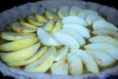 Tarte aux Pommes au Sarrasin. Sans gluten, sans lait, sans œuf, sans arachide, sans fruits à coque !