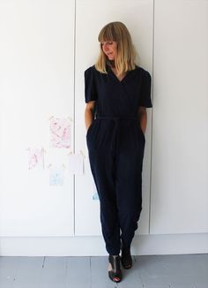 Jumpsuit on A Quiet Style blog