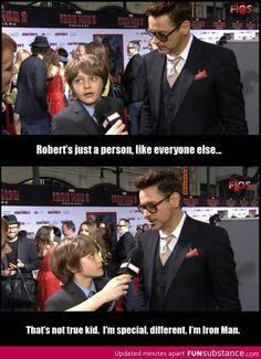 Yep, he's IRONMAN!!