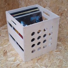 Premium Vinyl Record Storage Box | eBay