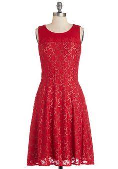 Make It Poppy Dress, #ModCloth