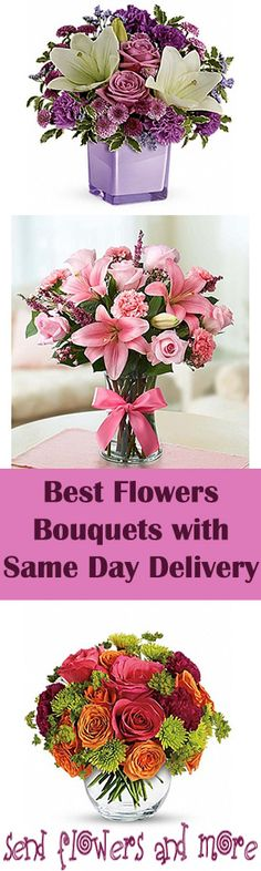 Find out best flowers bouquets with the same day delivery at your desired location. #order Now.