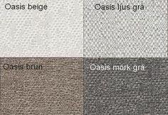 Oasis Beige / Oasis Ljusgrå / Oasis Brun / Oasis Mörkgrå  Från Hovden Oasis Beige / Oasis Light Grey /  Oasis Brown / Oasis Dark Grey From Hovden