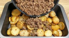 Quick Recipes, Beef Recipes, Cooking Recipes, Beef And Potatoes, Ground Meat Recipes, Good Food, Yummy Food, Salty Foods, Carne Picada