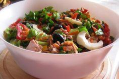 Retete Culinare - Salata cu ton si avocado
