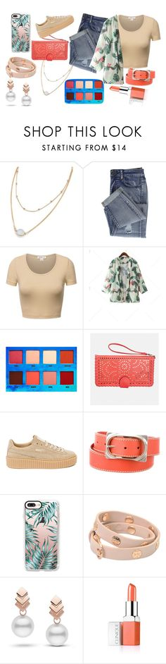 """""""outfit"""" by aletraghetti on Polyvore featuring moda, Lime Crime, Avenue, Puma, Marni, Casetify, Tory Burch, Escalier y Clinique"""