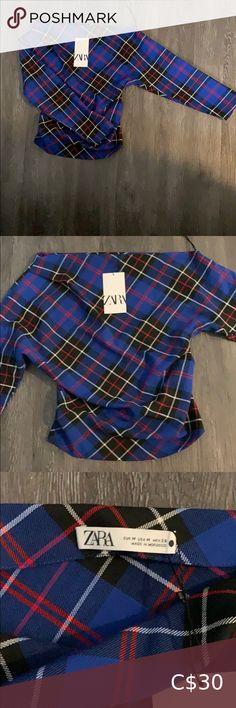 I just added this listing on Poshmark: NWT Zara Asymmetrical Plaid Shirt. #shopmycloset #poshmark #fashion #shopping #style #forsale #Zara #Tops Zara Lace Top, Studded Shirt, Beige Top, Zara Shirt, Square Scarf, Zara Tops, Casual T Shirts, Vintage Shirts, Pink Tops
