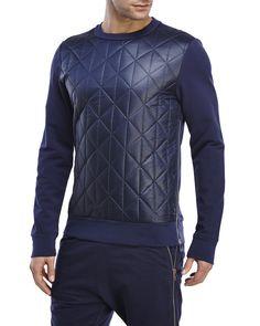 Antony Morato Quilted Sweatshirt