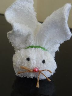 Directions for Boo-Boo Bunny - totally made these in like 1st grade.