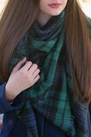 Blanket Scarf Green