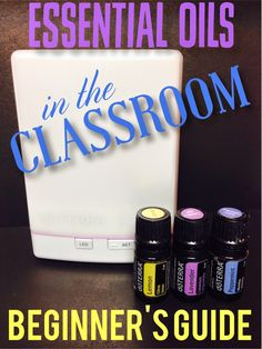 Hello Blog Hoppers! It's Natalie from What the Teacher Wants  and today I'm going to share withyou a little secret… I love essential oils!...