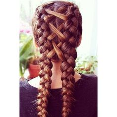 100+ Charming Braided Hairstyles Ideas For Medium Hair ❤ liked on Polyvore featuring accessories and hair accessories
