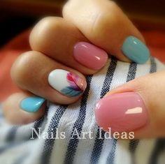 Nails, short nail designs, nail designs spring, shellac nails, nail m Fall Nail Art Designs, Short Nail Designs, Gel Nail Designs, Nails Design, Pedicure Designs, Nail Design For Short Nails, Classy Nail Designs, Pedicure Ideas, Manicure Rose