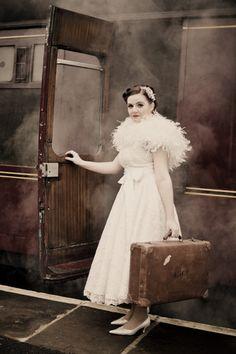 vintage wedding dress by No9 Bridal Couture #weddingdress