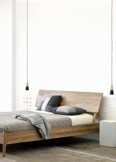 Teak double bed TEAK AIR BED | Bed - Ethnicraft