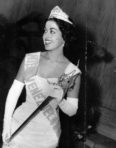 Miss Venezuela 1957 Consuelo Leticia Nouel