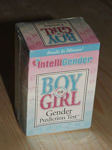 Intelligender Boy - Girl Gender Prediction Test Kit Baby Predictor  Expiry 2017