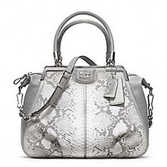 MADISON PINNACLE EMBOSSED PYTHON LILLY
