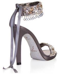 René Caovilla    CLEU Silva via Ronelle Van Rooyen / Delicate Elegance Events onto Designer Shoes