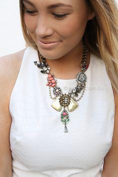 michelle necklace - multi